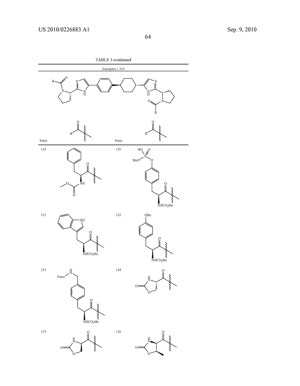 LINKED DIIMIDAZOLE DERIVATIVES - diagram, schematic, and image 65
