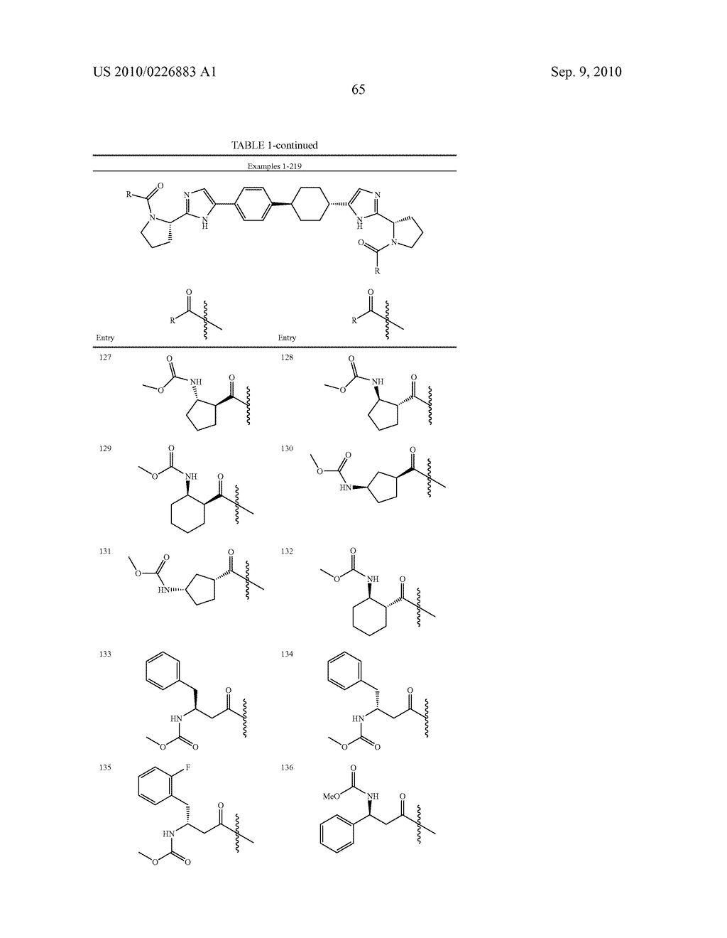 LINKED DIIMIDAZOLE DERIVATIVES - diagram, schematic, and image 66