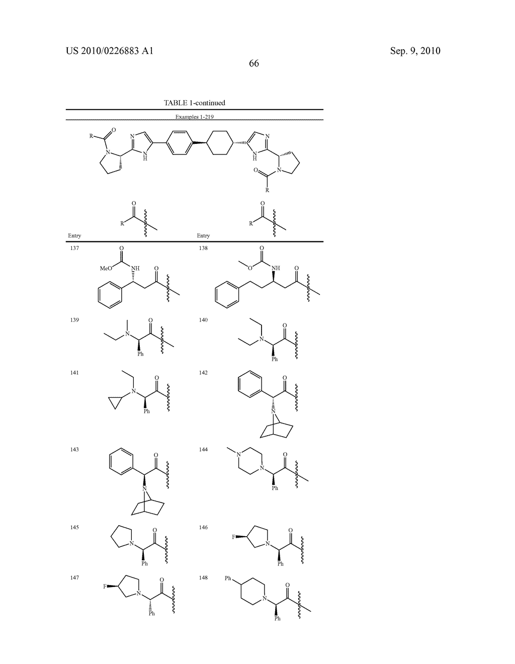 LINKED DIIMIDAZOLE DERIVATIVES - diagram, schematic, and image 67