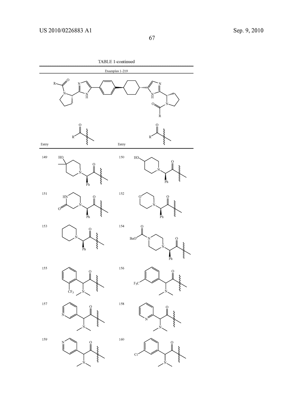 LINKED DIIMIDAZOLE DERIVATIVES - diagram, schematic, and image 68