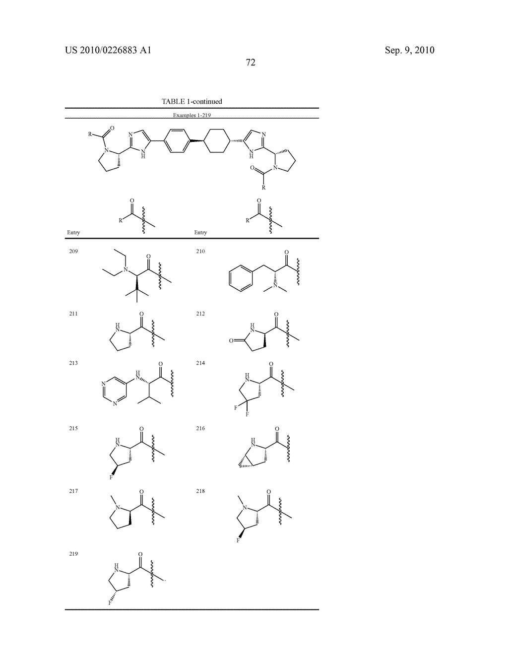 LINKED DIIMIDAZOLE DERIVATIVES - diagram, schematic, and image 73