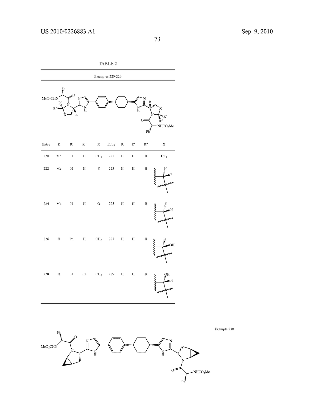 LINKED DIIMIDAZOLE DERIVATIVES - diagram, schematic, and image 74