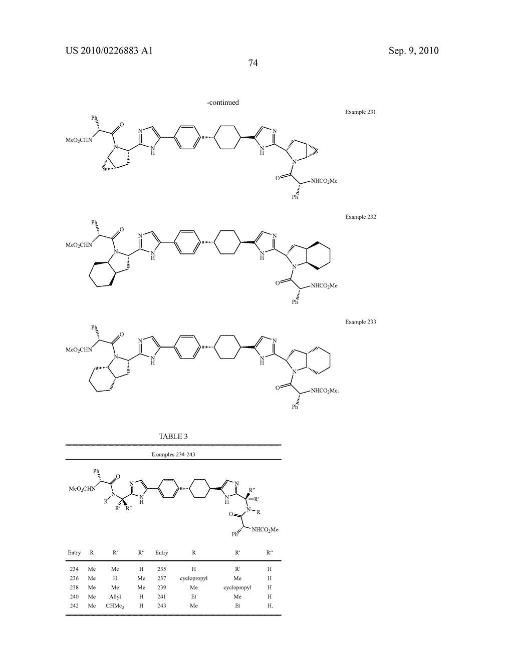 LINKED DIIMIDAZOLE DERIVATIVES - diagram, schematic, and image 75
