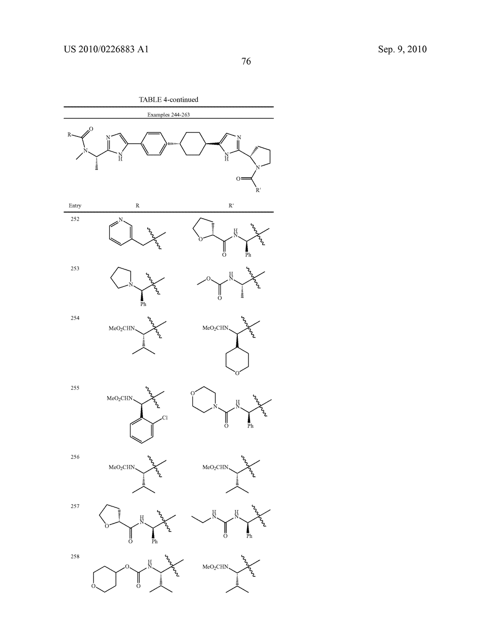 LINKED DIIMIDAZOLE DERIVATIVES - diagram, schematic, and image 77