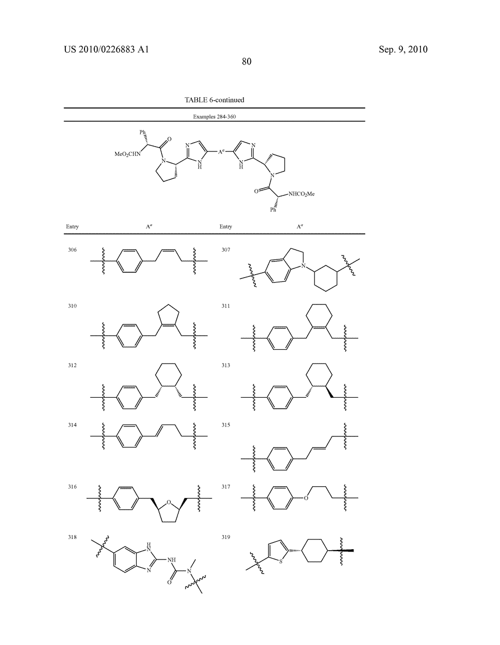 LINKED DIIMIDAZOLE DERIVATIVES - diagram, schematic, and image 81