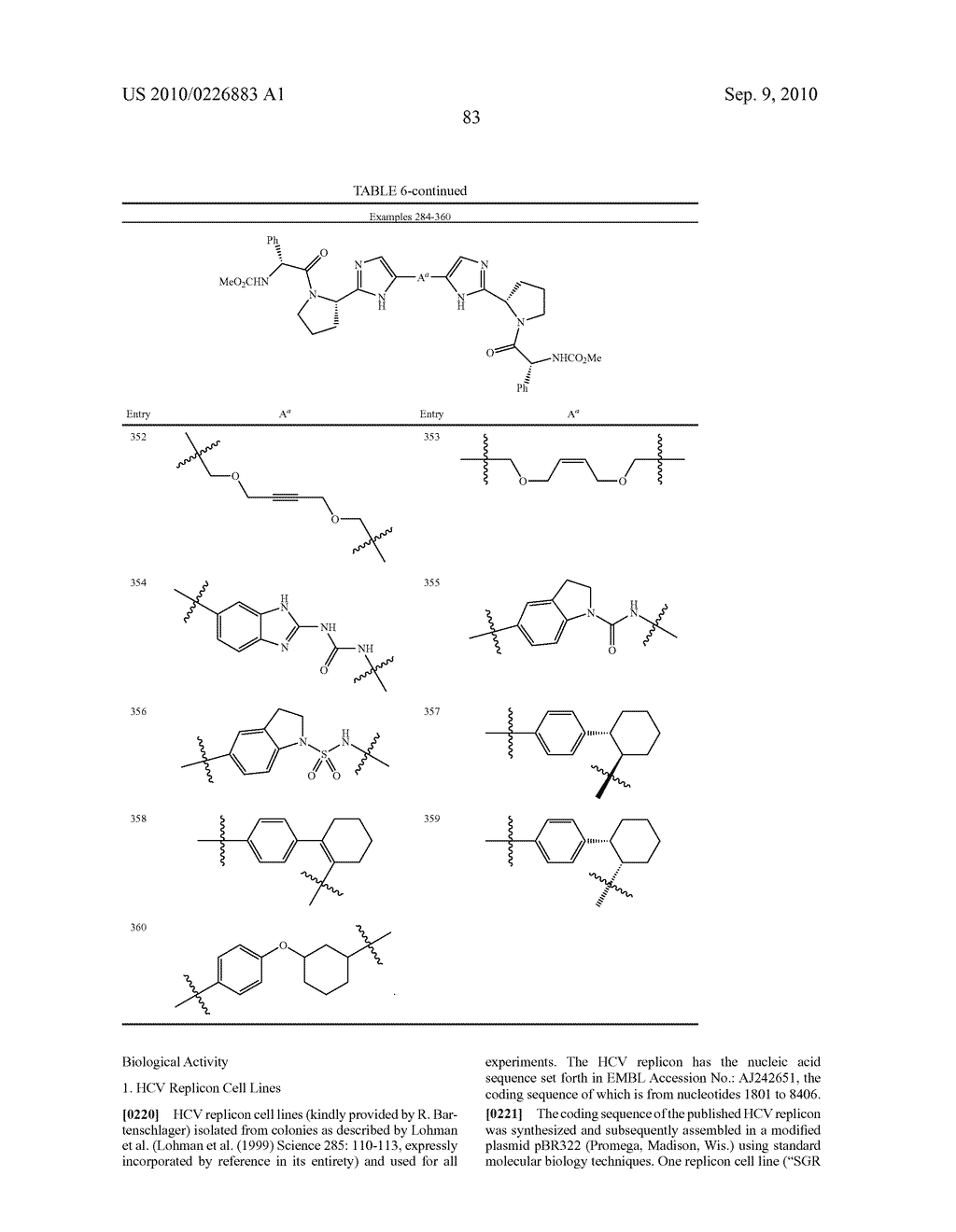 LINKED DIIMIDAZOLE DERIVATIVES - diagram, schematic, and image 84
