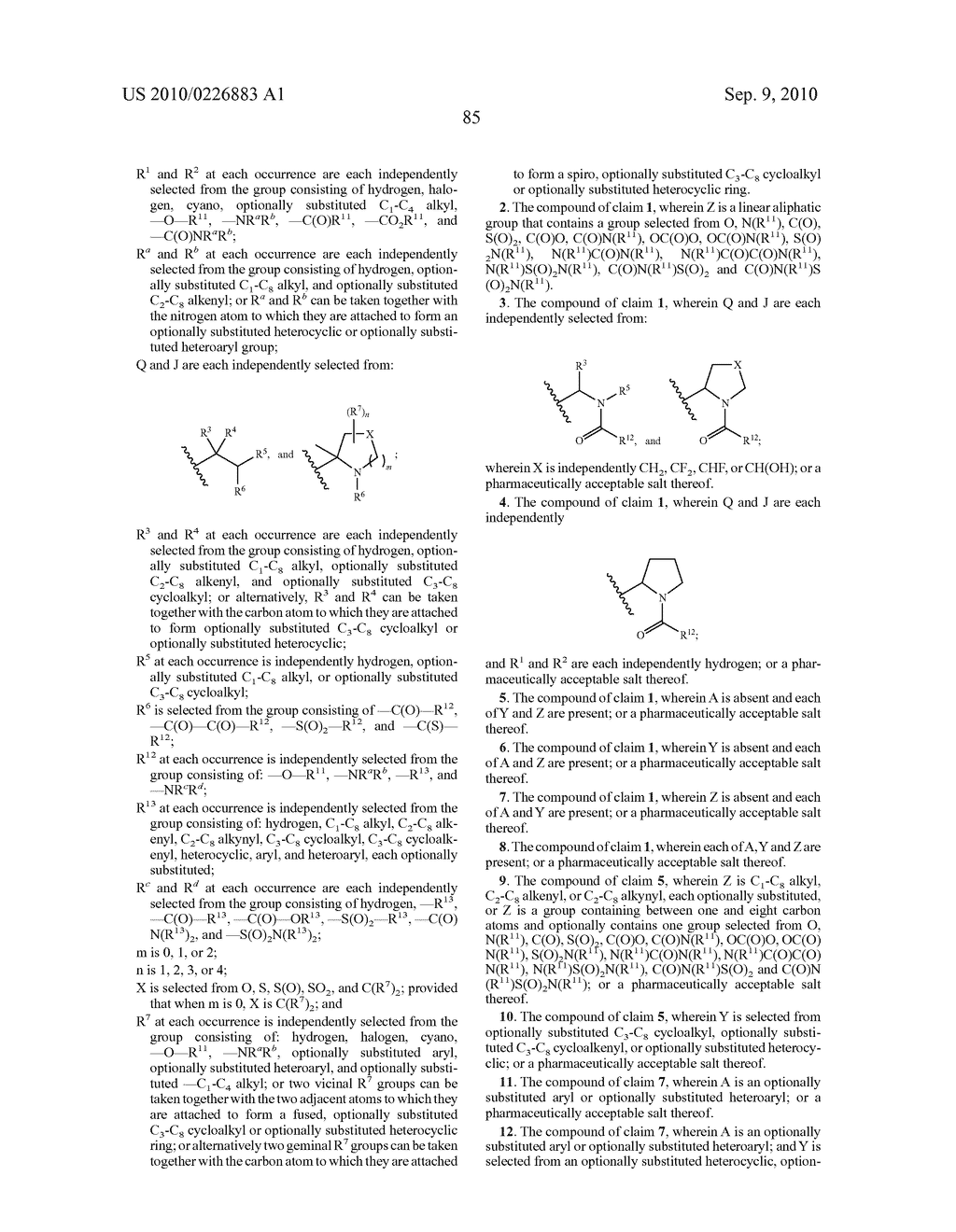 LINKED DIIMIDAZOLE DERIVATIVES - diagram, schematic, and image 86