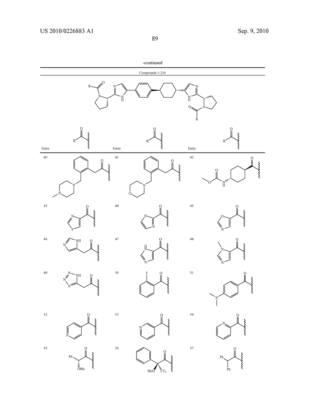 LINKED DIIMIDAZOLE DERIVATIVES - diagram, schematic, and image 90