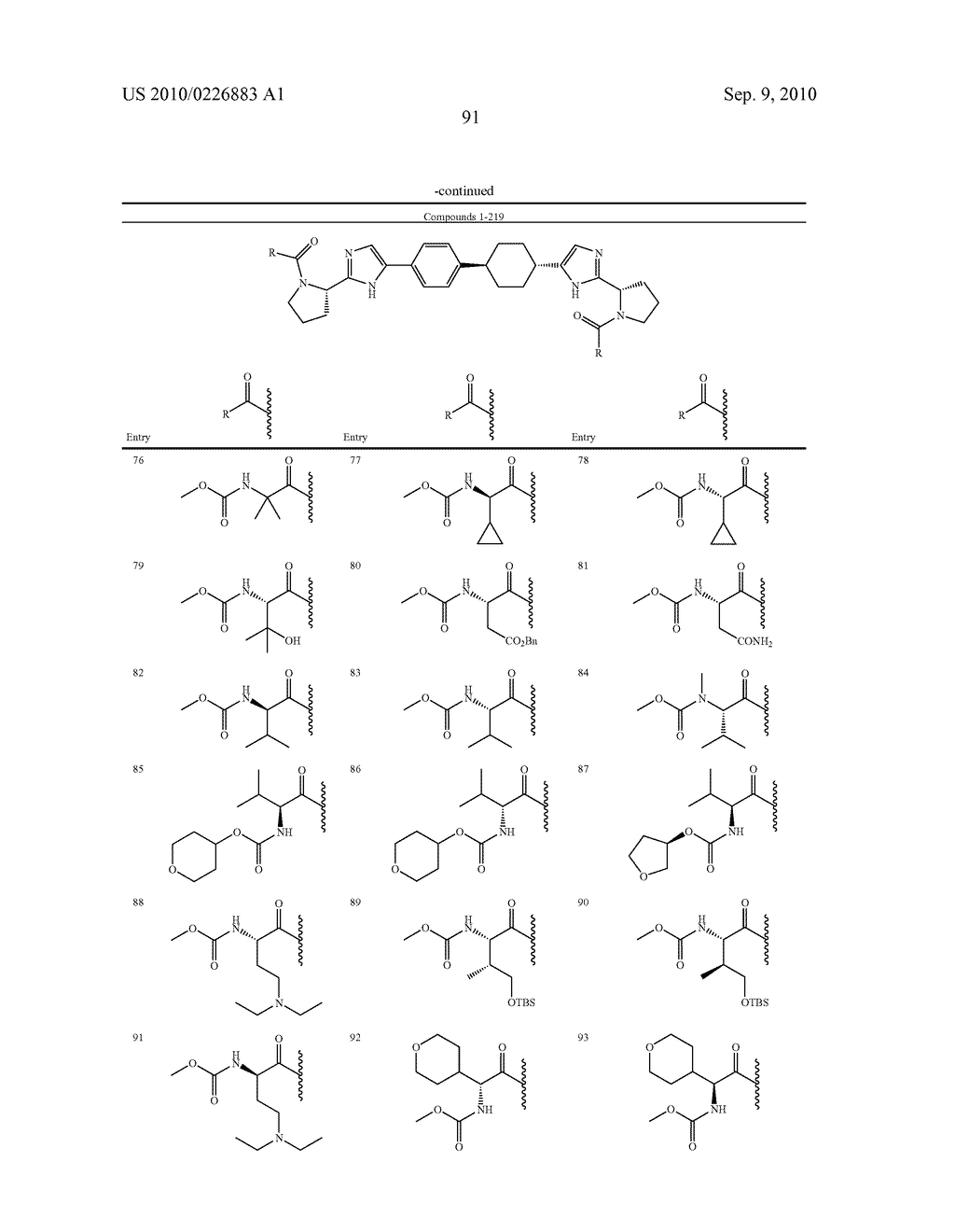 LINKED DIIMIDAZOLE DERIVATIVES - diagram, schematic, and image 92