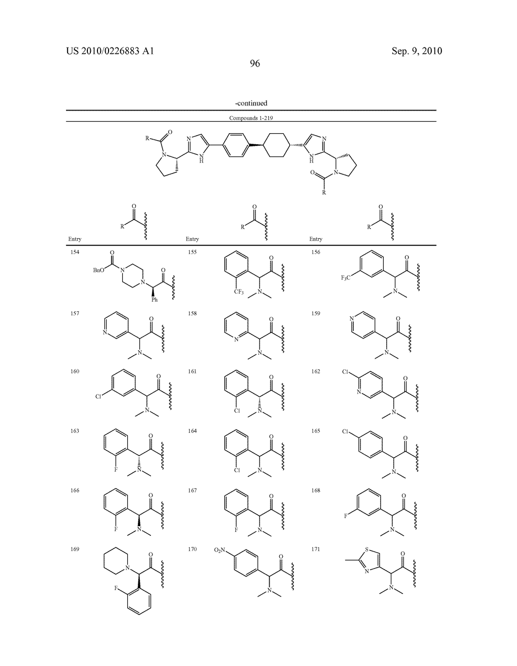 LINKED DIIMIDAZOLE DERIVATIVES - diagram, schematic, and image 97