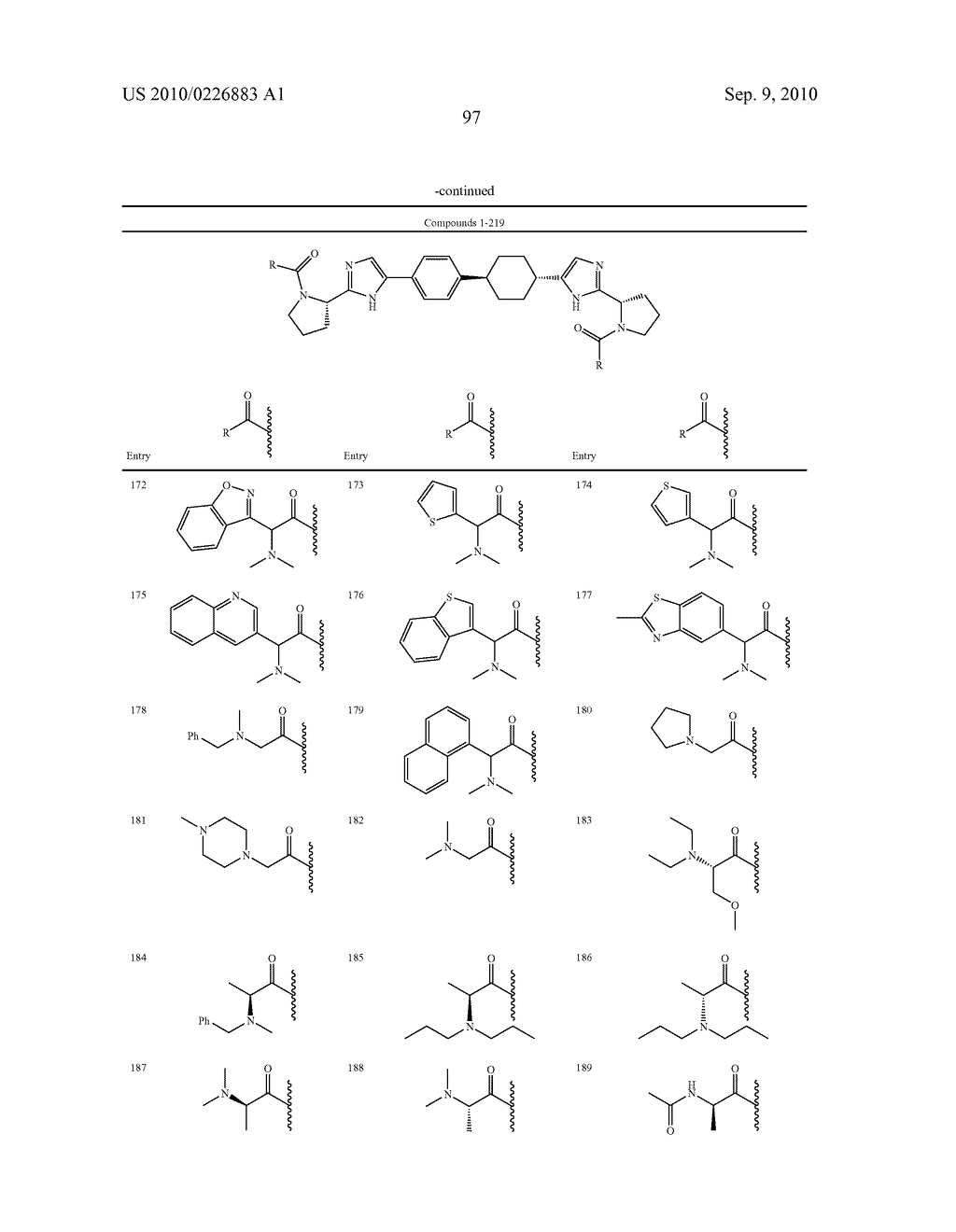 LINKED DIIMIDAZOLE DERIVATIVES - diagram, schematic, and image 98