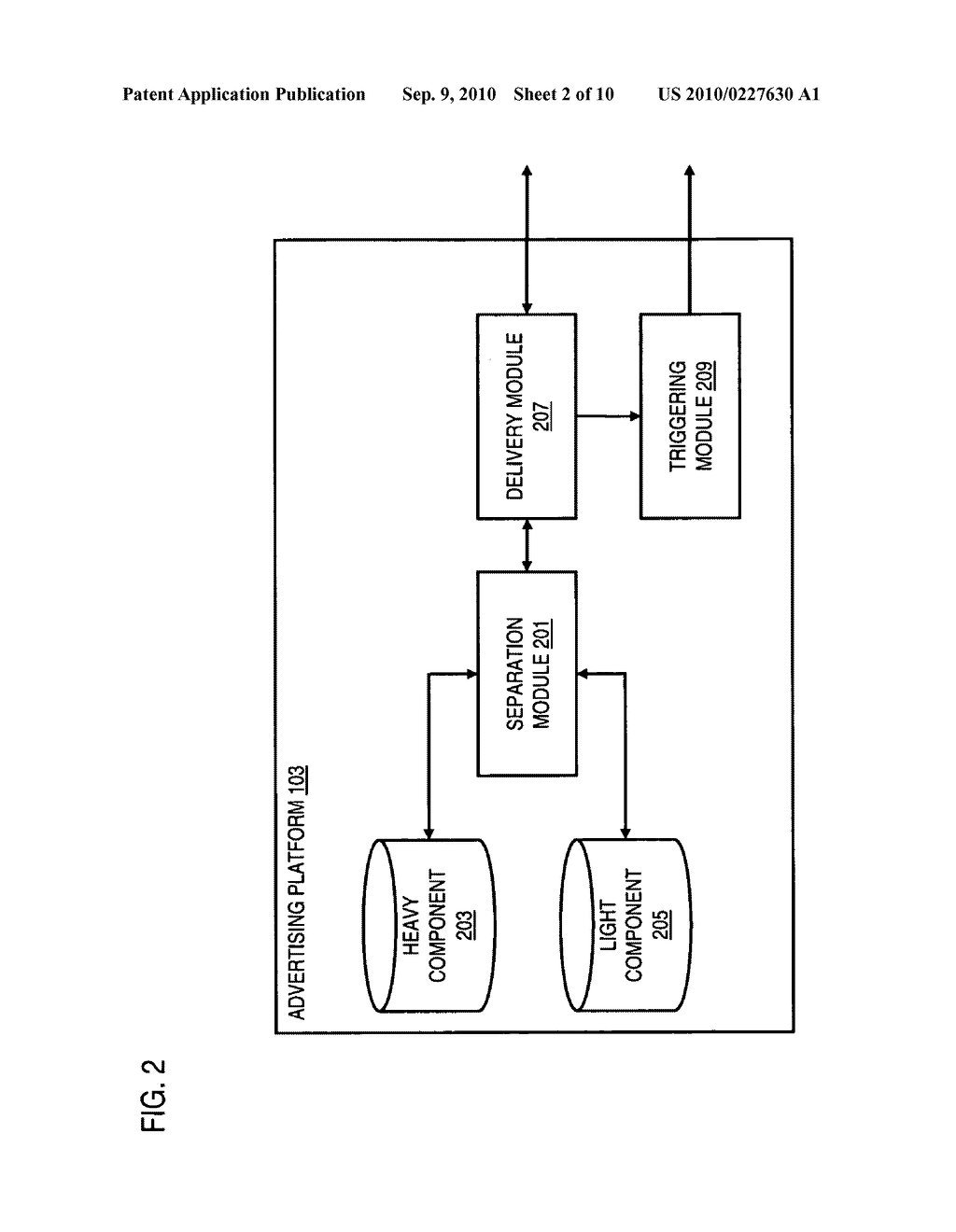 METHOD AND APPARATUS FOR DELIVERING ADVERTISING DATA - diagram, schematic, and image 03