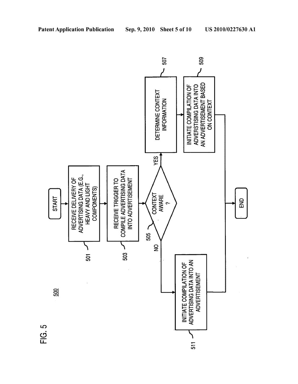 METHOD AND APPARATUS FOR DELIVERING ADVERTISING DATA - diagram, schematic, and image 06