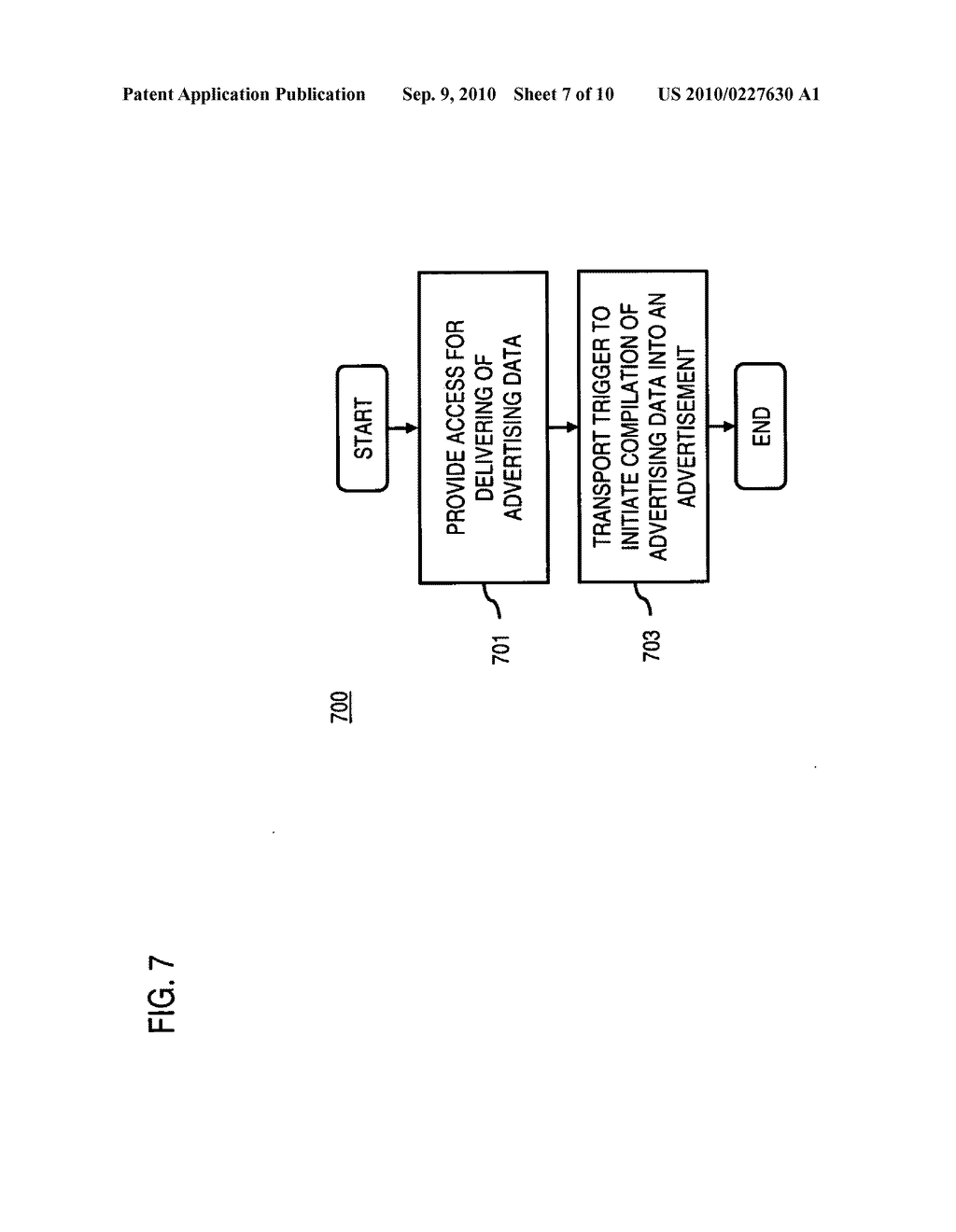 METHOD AND APPARATUS FOR DELIVERING ADVERTISING DATA - diagram, schematic, and image 08