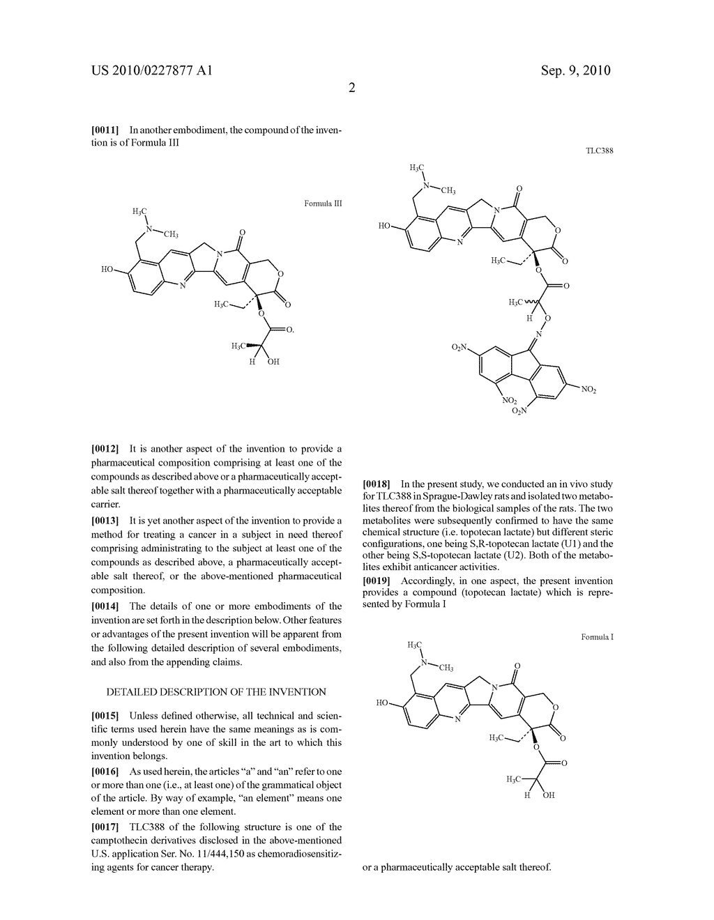 NEW CAMPTOTHECIN DERIVATIVES AND USES THEREOF - diagram, schematic, and image 03