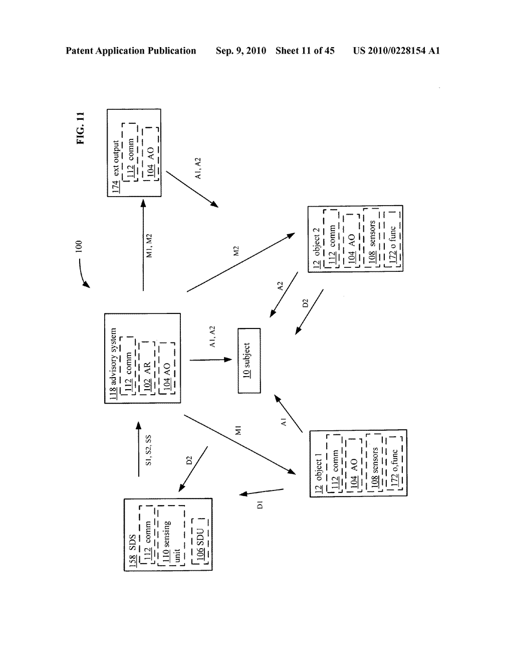 Postural information system and method including determining response to subject advisory information - diagram, schematic, and image 12