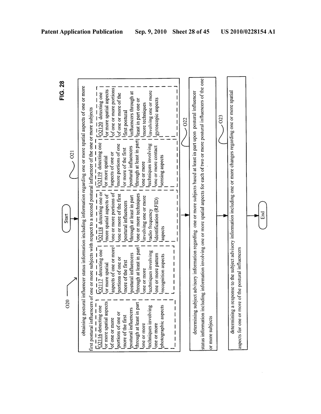 Postural information system and method including determining response to subject advisory information - diagram, schematic, and image 29