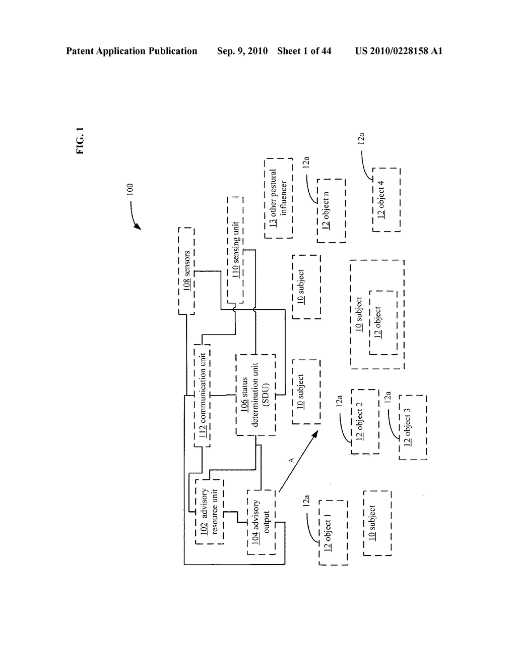 POSTURAL INFORMATION SYSTEM AND METHOD INCLUDING DEVICE LEVEL DETERMINING OF SUBJECT ADVISORY INFORMATION BASED ON SUBJECT STATUS INFORMATION AND POSTURAL INFLUENCER STATUS INFORMATION - diagram, schematic, and image 02