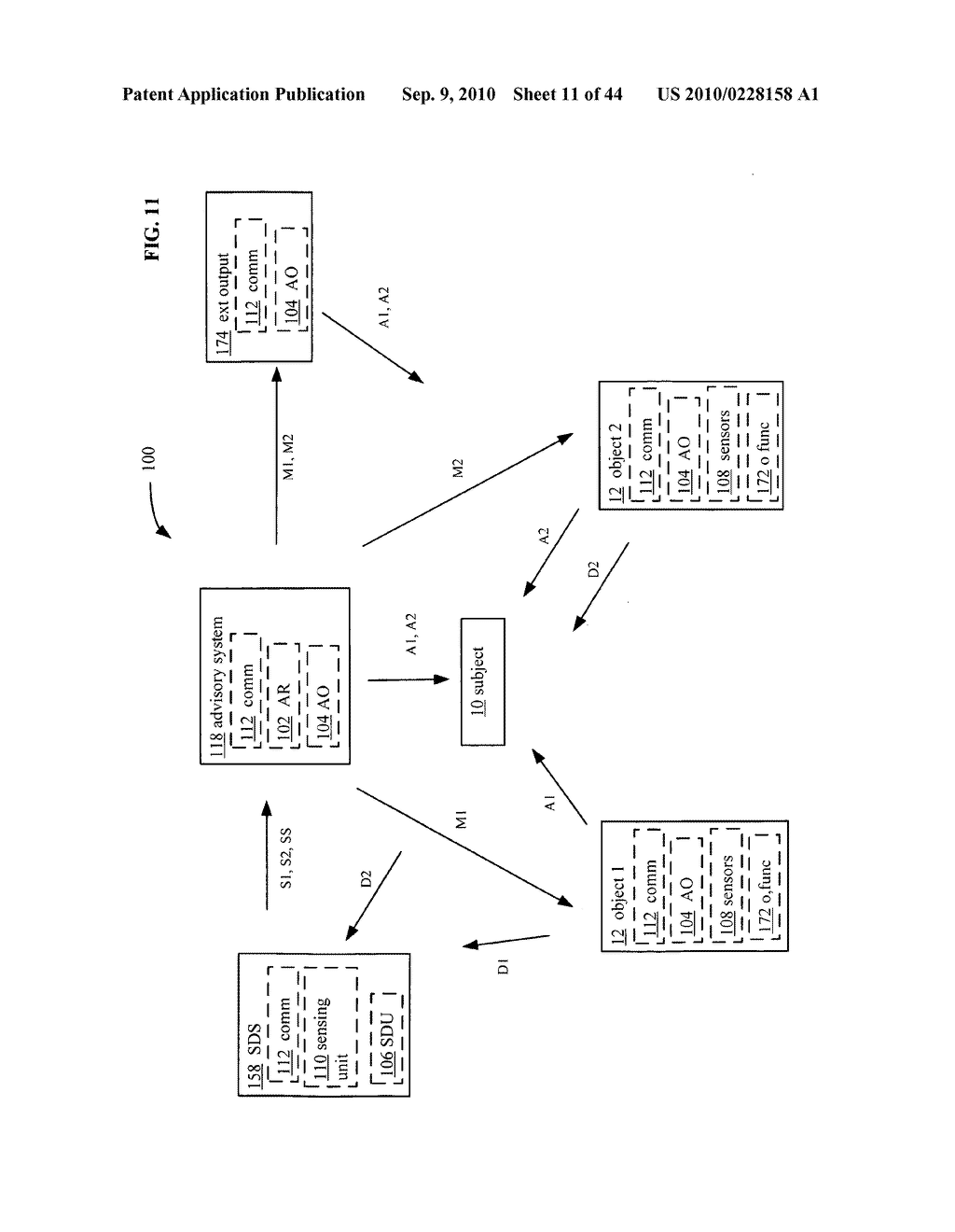 POSTURAL INFORMATION SYSTEM AND METHOD INCLUDING DEVICE LEVEL DETERMINING OF SUBJECT ADVISORY INFORMATION BASED ON SUBJECT STATUS INFORMATION AND POSTURAL INFLUENCER STATUS INFORMATION - diagram, schematic, and image 12