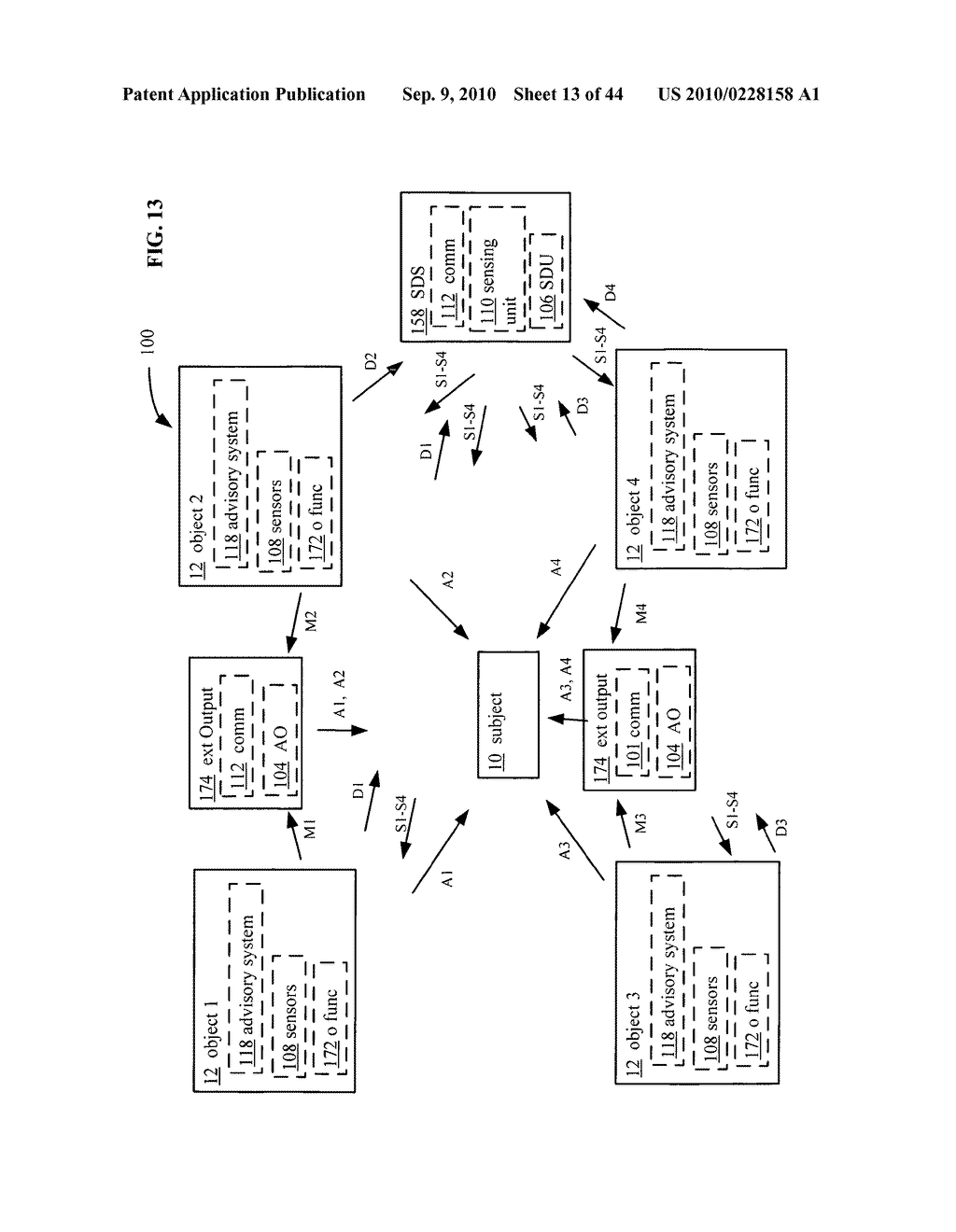 POSTURAL INFORMATION SYSTEM AND METHOD INCLUDING DEVICE LEVEL DETERMINING OF SUBJECT ADVISORY INFORMATION BASED ON SUBJECT STATUS INFORMATION AND POSTURAL INFLUENCER STATUS INFORMATION - diagram, schematic, and image 14