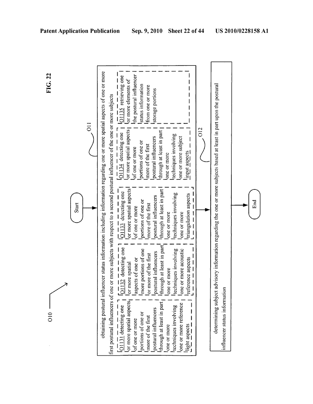 POSTURAL INFORMATION SYSTEM AND METHOD INCLUDING DEVICE LEVEL DETERMINING OF SUBJECT ADVISORY INFORMATION BASED ON SUBJECT STATUS INFORMATION AND POSTURAL INFLUENCER STATUS INFORMATION - diagram, schematic, and image 23