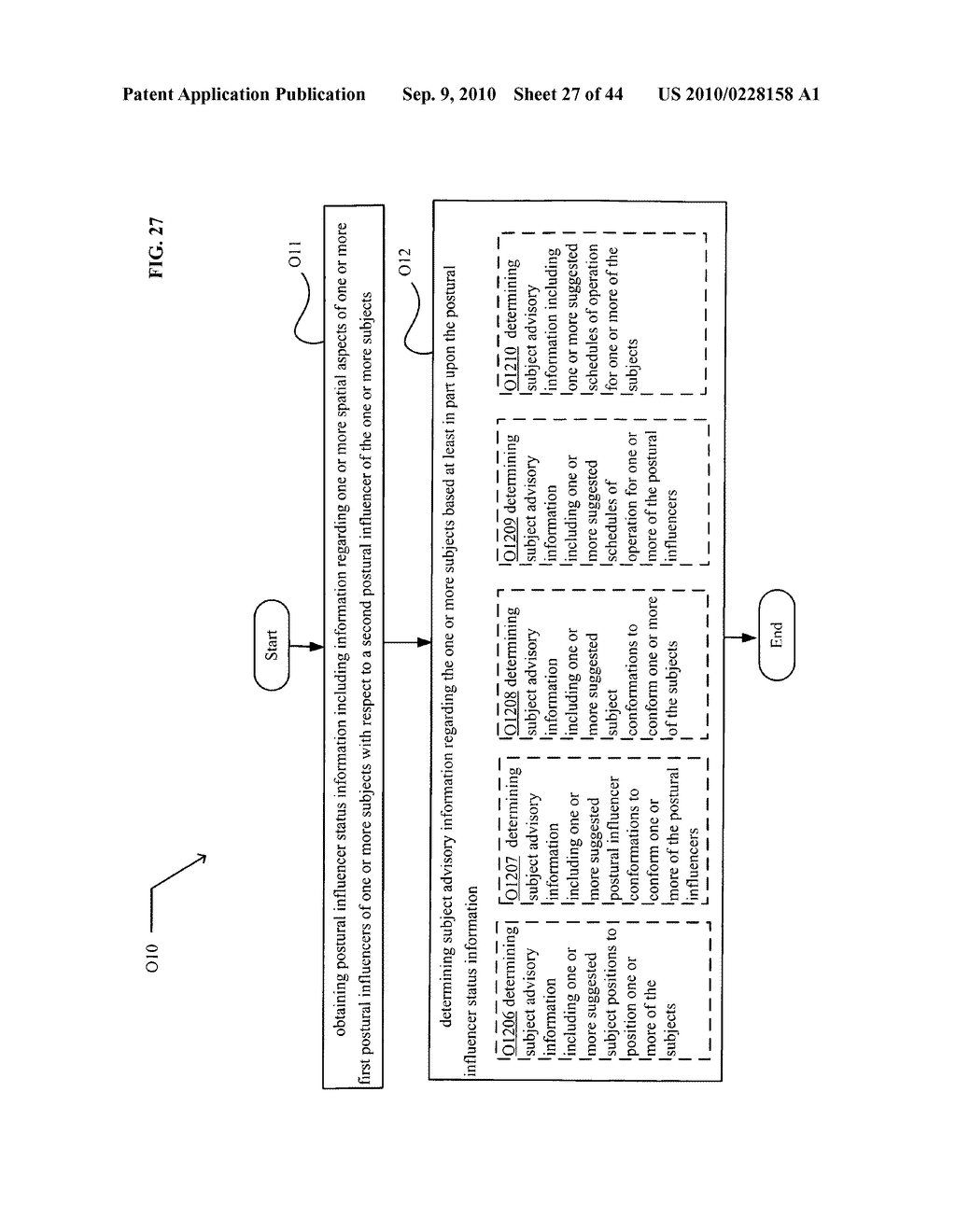 POSTURAL INFORMATION SYSTEM AND METHOD INCLUDING DEVICE LEVEL DETERMINING OF SUBJECT ADVISORY INFORMATION BASED ON SUBJECT STATUS INFORMATION AND POSTURAL INFLUENCER STATUS INFORMATION - diagram, schematic, and image 28