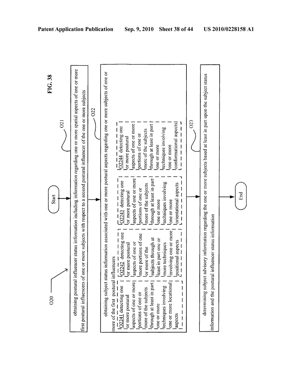POSTURAL INFORMATION SYSTEM AND METHOD INCLUDING DEVICE LEVEL DETERMINING OF SUBJECT ADVISORY INFORMATION BASED ON SUBJECT STATUS INFORMATION AND POSTURAL INFLUENCER STATUS INFORMATION - diagram, schematic, and image 39