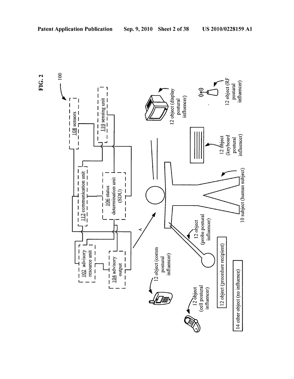 Postural information system and method - diagram, schematic, and image 03