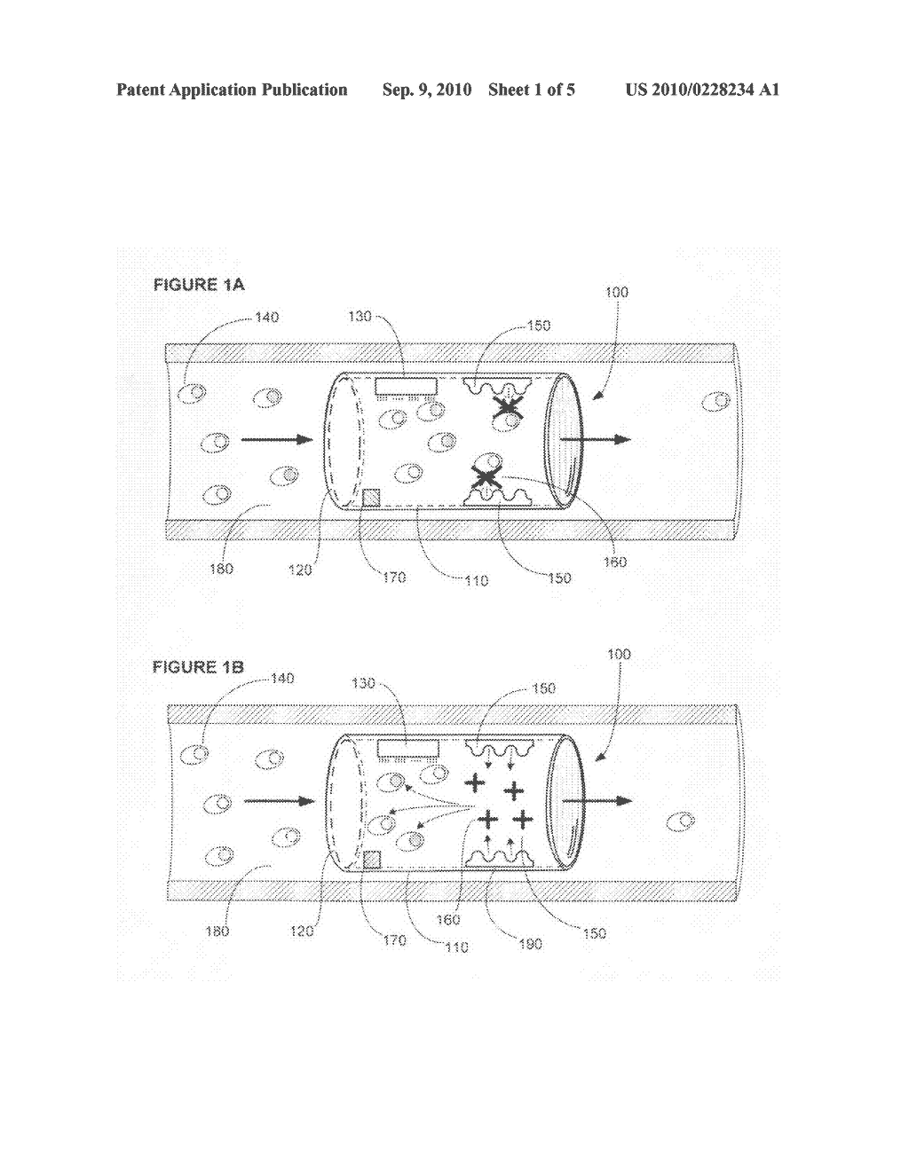 Device for actively removing a target cell from blood or lymph of a vertebrate subject - diagram, schematic, and image 02