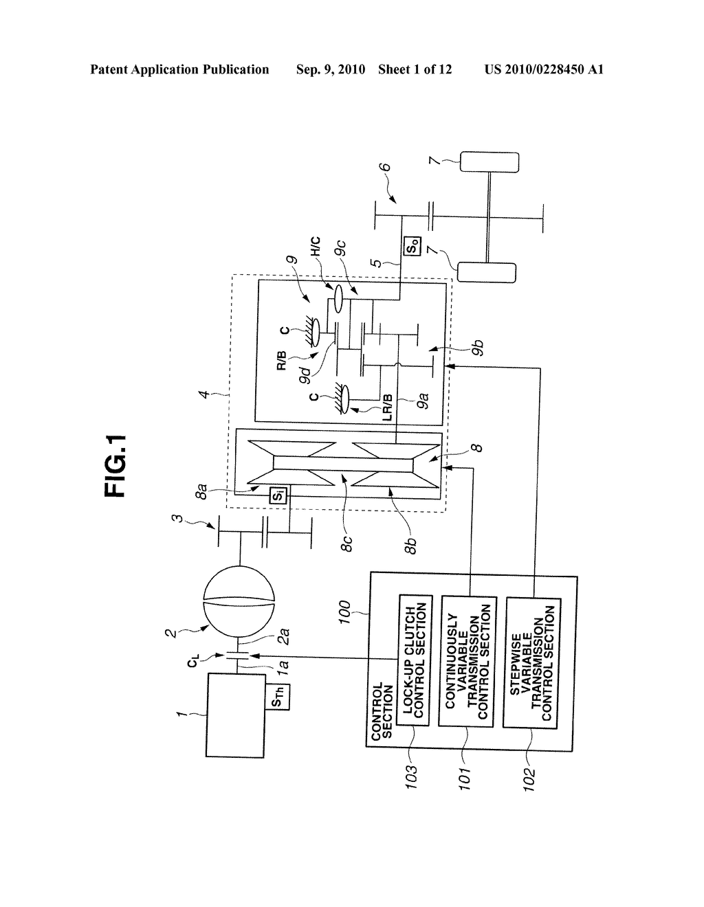 CONTROL APPARATUS OF AUTOMATIC TRANSMISSION - diagram, schematic, and image 02