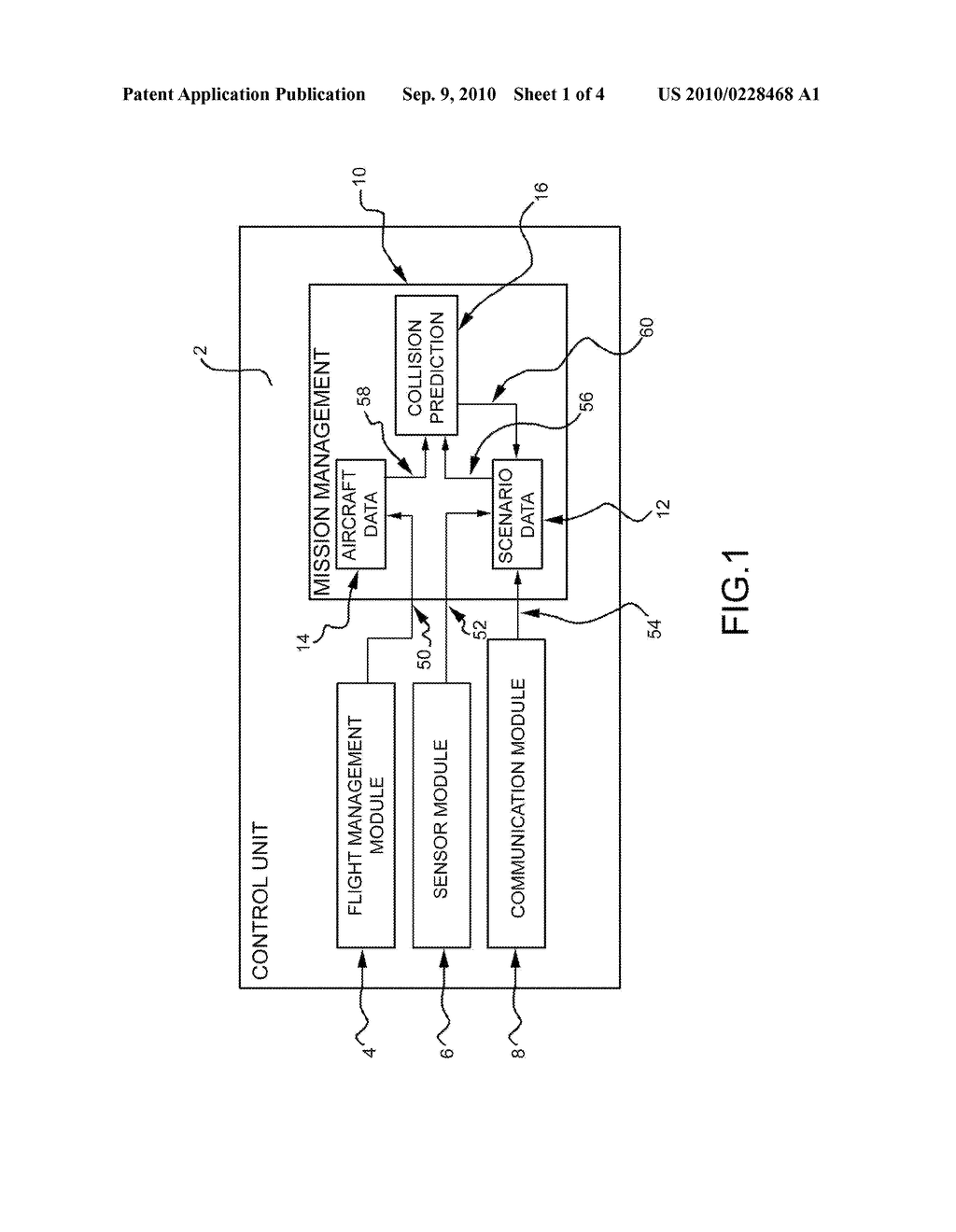 METHOD OF COLLISION PREDICTION BETWEEN AN AIR VEHICLE AND AN AIRBORNE OBJECT - diagram, schematic, and image 02