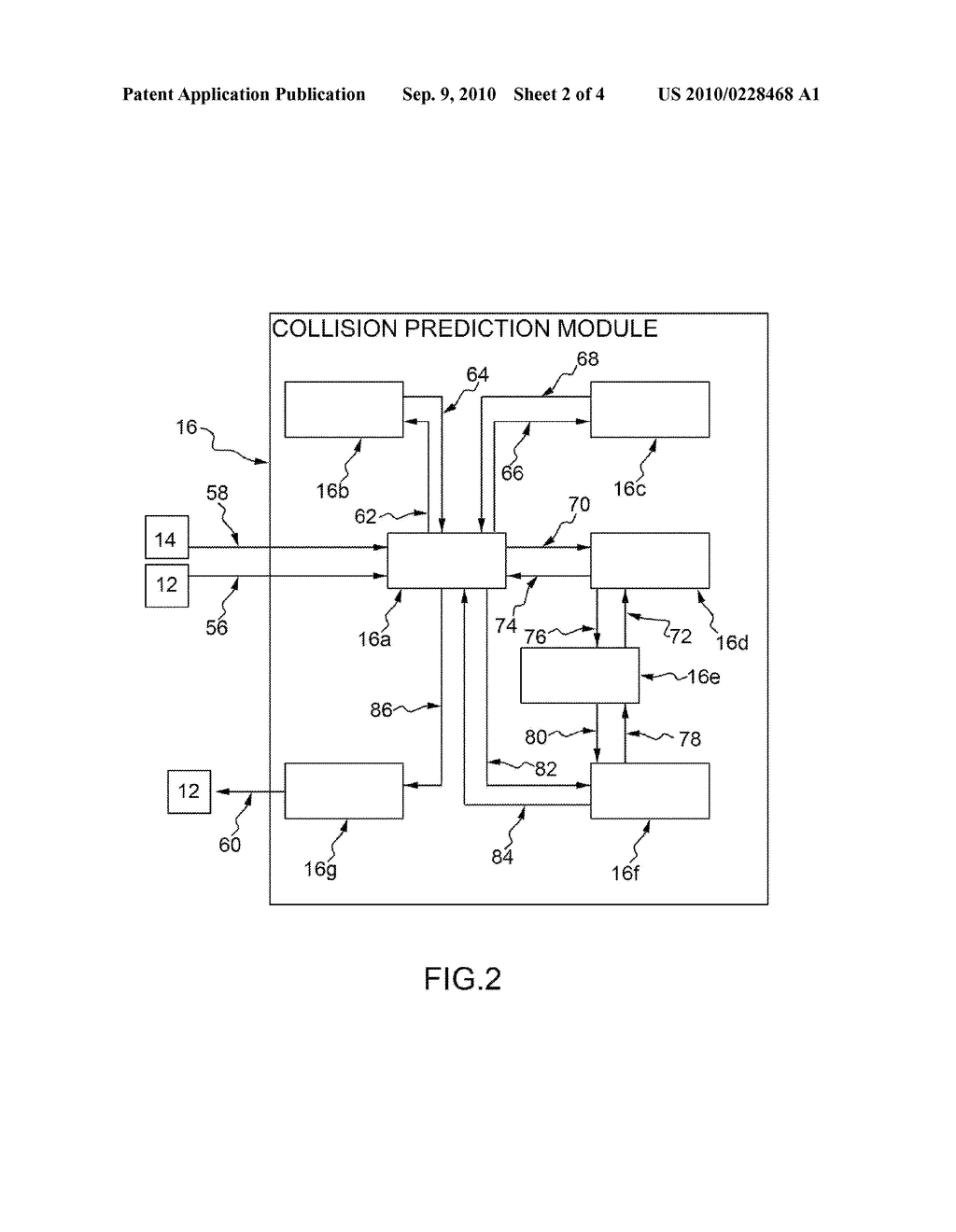 METHOD OF COLLISION PREDICTION BETWEEN AN AIR VEHICLE AND AN AIRBORNE OBJECT - diagram, schematic, and image 03