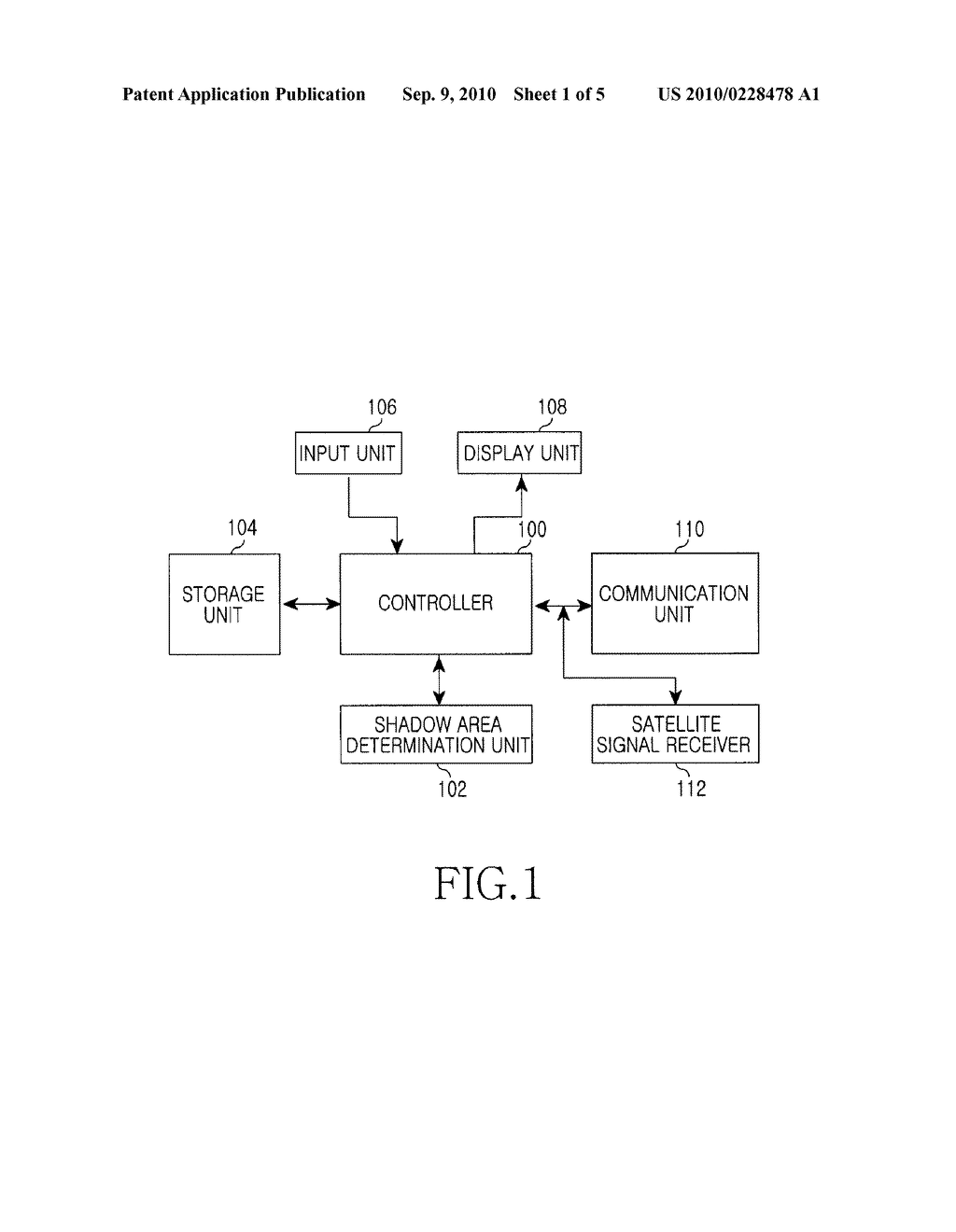 APPARATUS AND METHOD FOR RECEIVING MAP DATA IN PORTABLE TERMINAL - diagram, schematic, and image 02