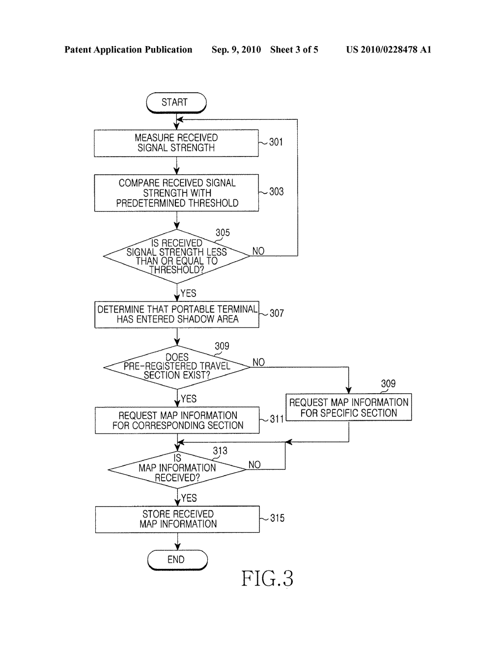 APPARATUS AND METHOD FOR RECEIVING MAP DATA IN PORTABLE TERMINAL - diagram, schematic, and image 04