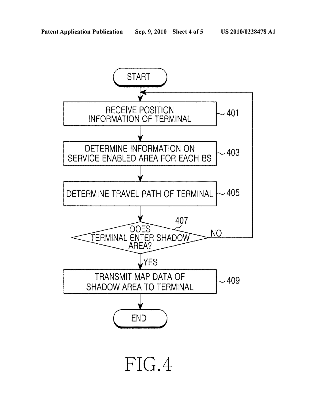 APPARATUS AND METHOD FOR RECEIVING MAP DATA IN PORTABLE TERMINAL - diagram, schematic, and image 05