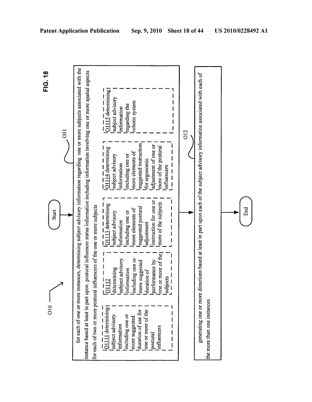 Postural information system and method including direction generation based on collection of subject advisory information - diagram, schematic, and image 19