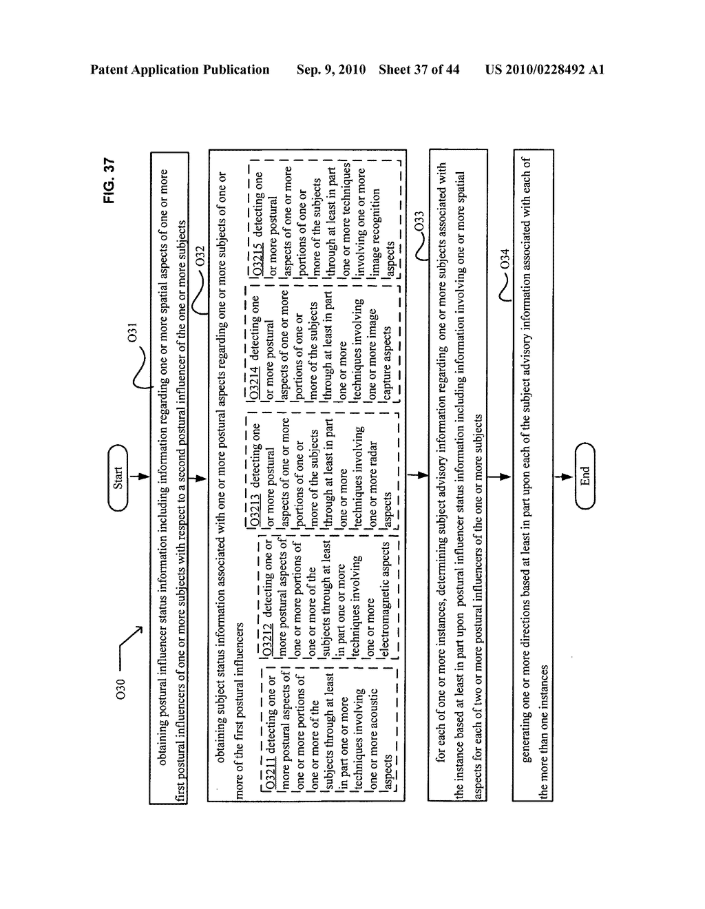 Postural information system and method including direction generation based on collection of subject advisory information - diagram, schematic, and image 38