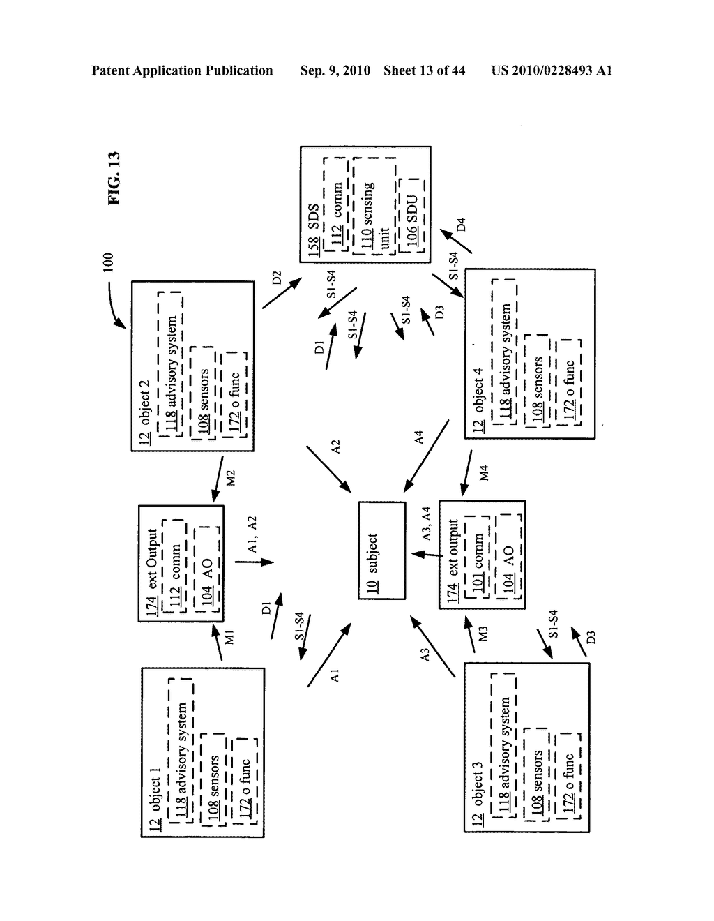 Postural information system and method including direction generation based on collection of subject advisory information - diagram, schematic, and image 14