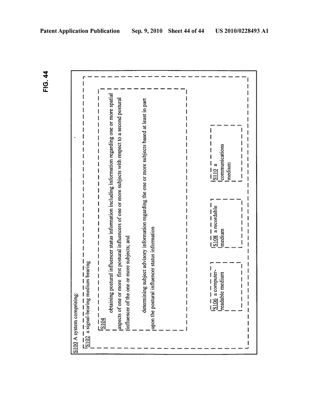 Postural information system and method including direction generation based on collection of subject advisory information - diagram, schematic, and image 45