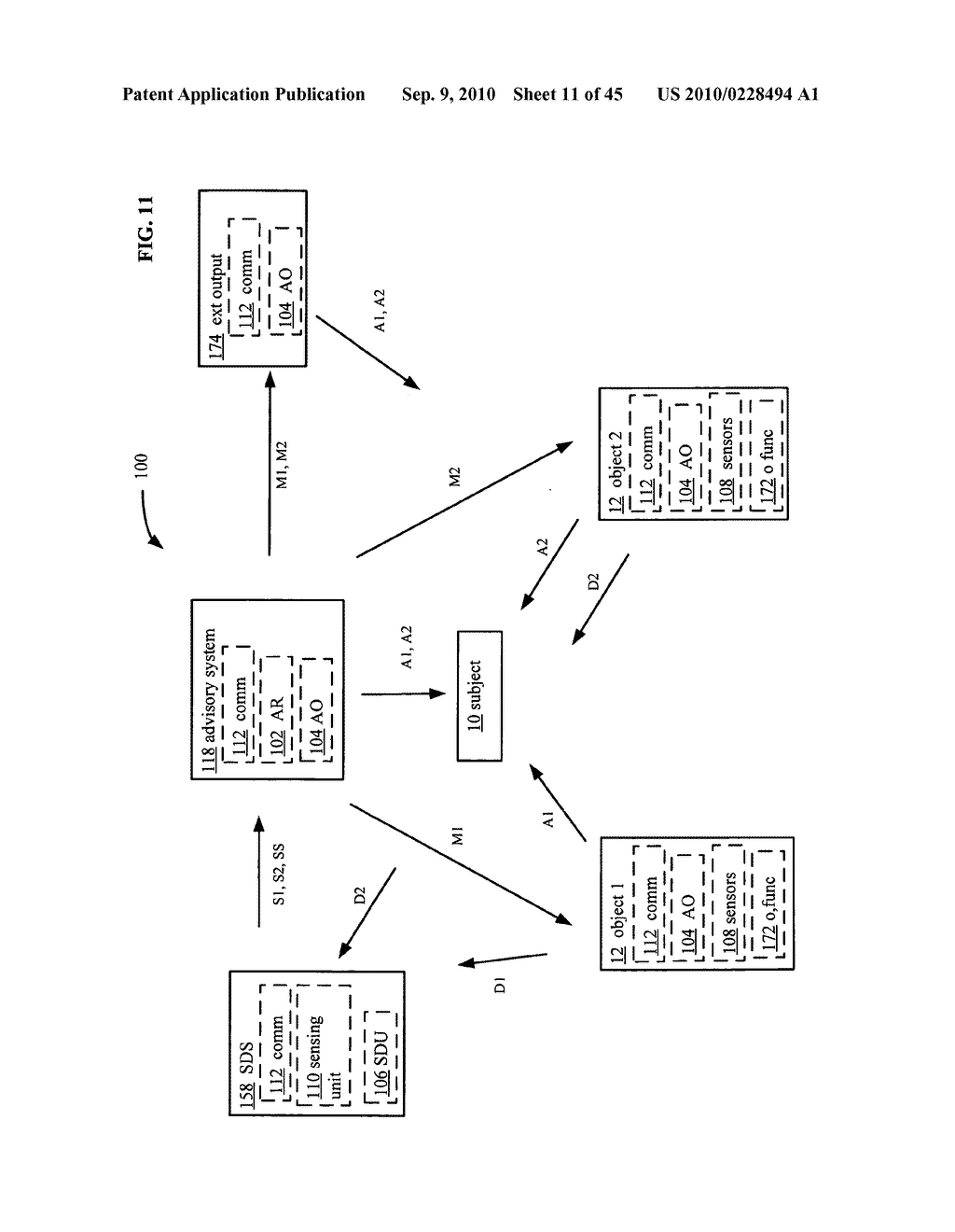 Postural information system and method including determining subject advisory information based on prior determined subject advisory information - diagram, schematic, and image 12
