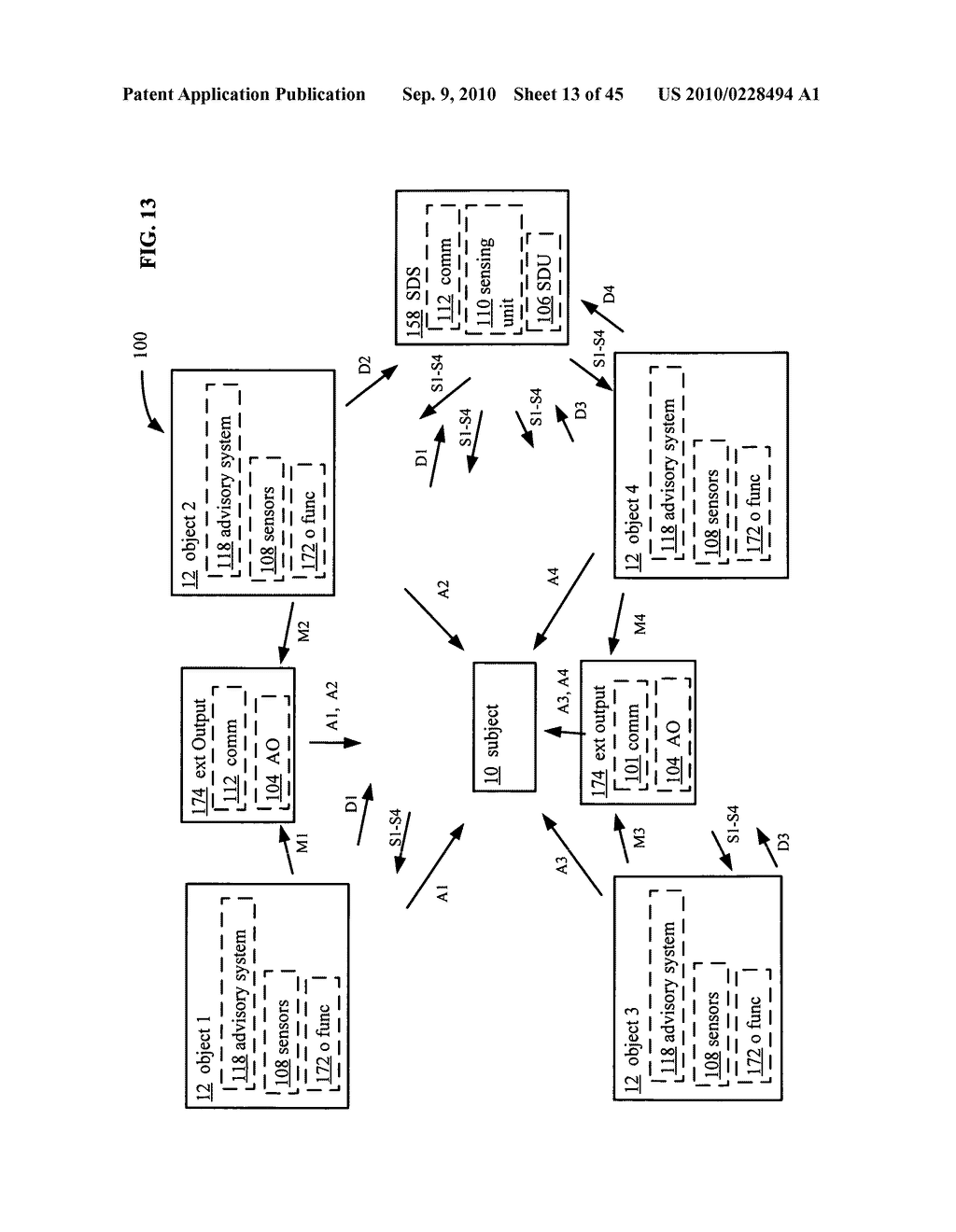 Postural information system and method including determining subject advisory information based on prior determined subject advisory information - diagram, schematic, and image 14