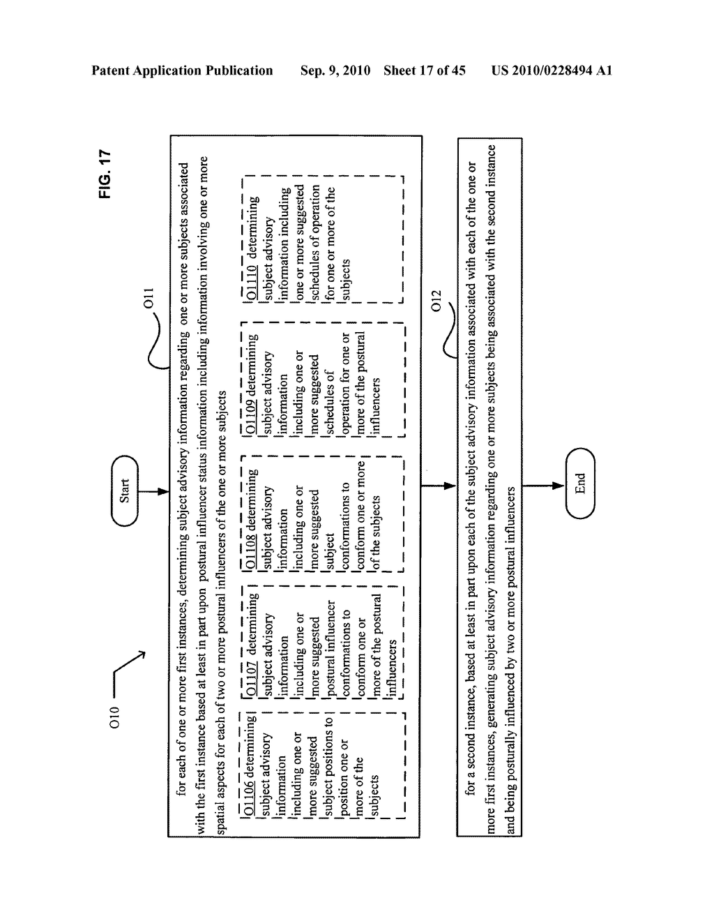 Postural information system and method including determining subject advisory information based on prior determined subject advisory information - diagram, schematic, and image 18