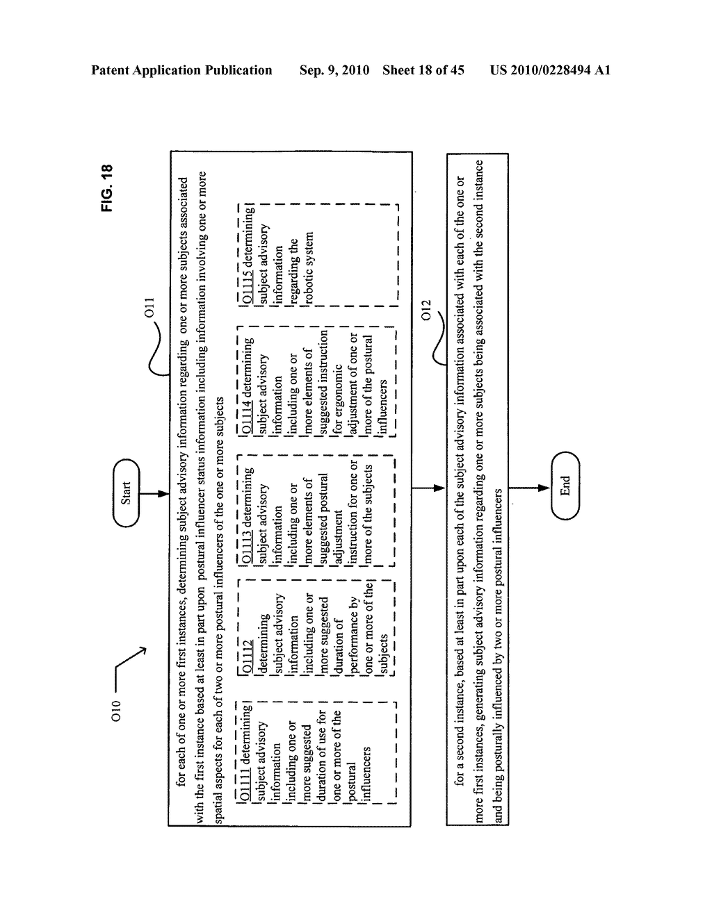 Postural information system and method including determining subject advisory information based on prior determined subject advisory information - diagram, schematic, and image 19