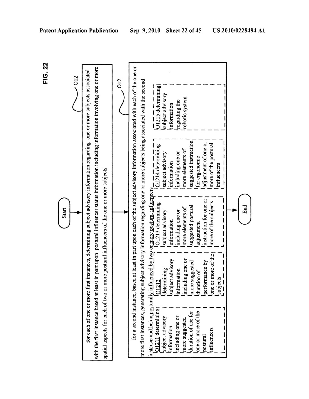 Postural information system and method including determining subject advisory information based on prior determined subject advisory information - diagram, schematic, and image 23