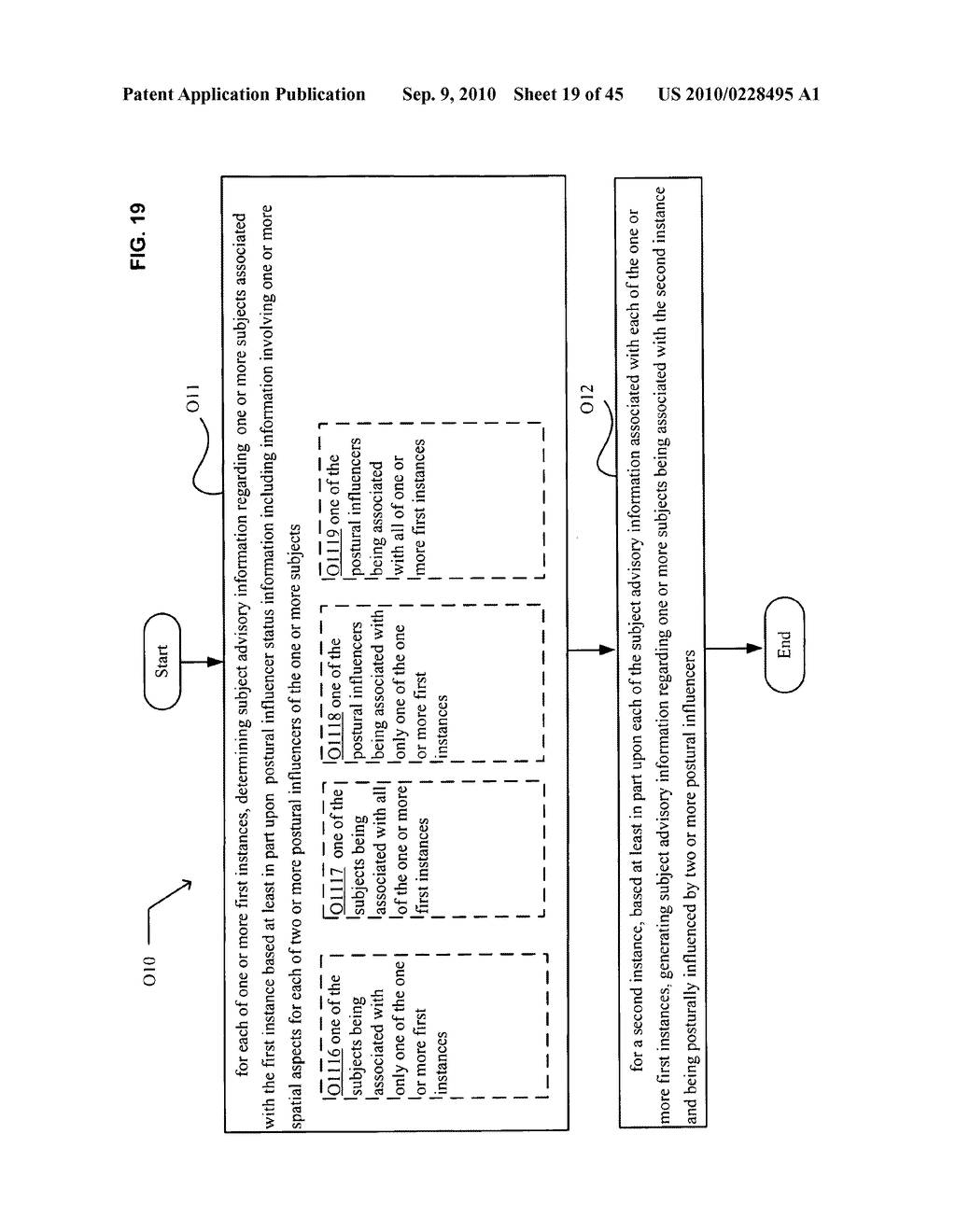 Postural information system and method including determining subject advisory information based on prior determined subject advisory information - diagram, schematic, and image 20