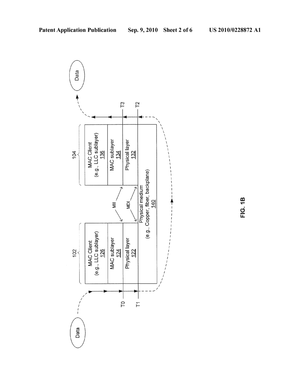 METHOD AND SYSTEM FOR DETERMINING PHYSICAL LAYER TRAVERSAL TIME - diagram, schematic, and image 03