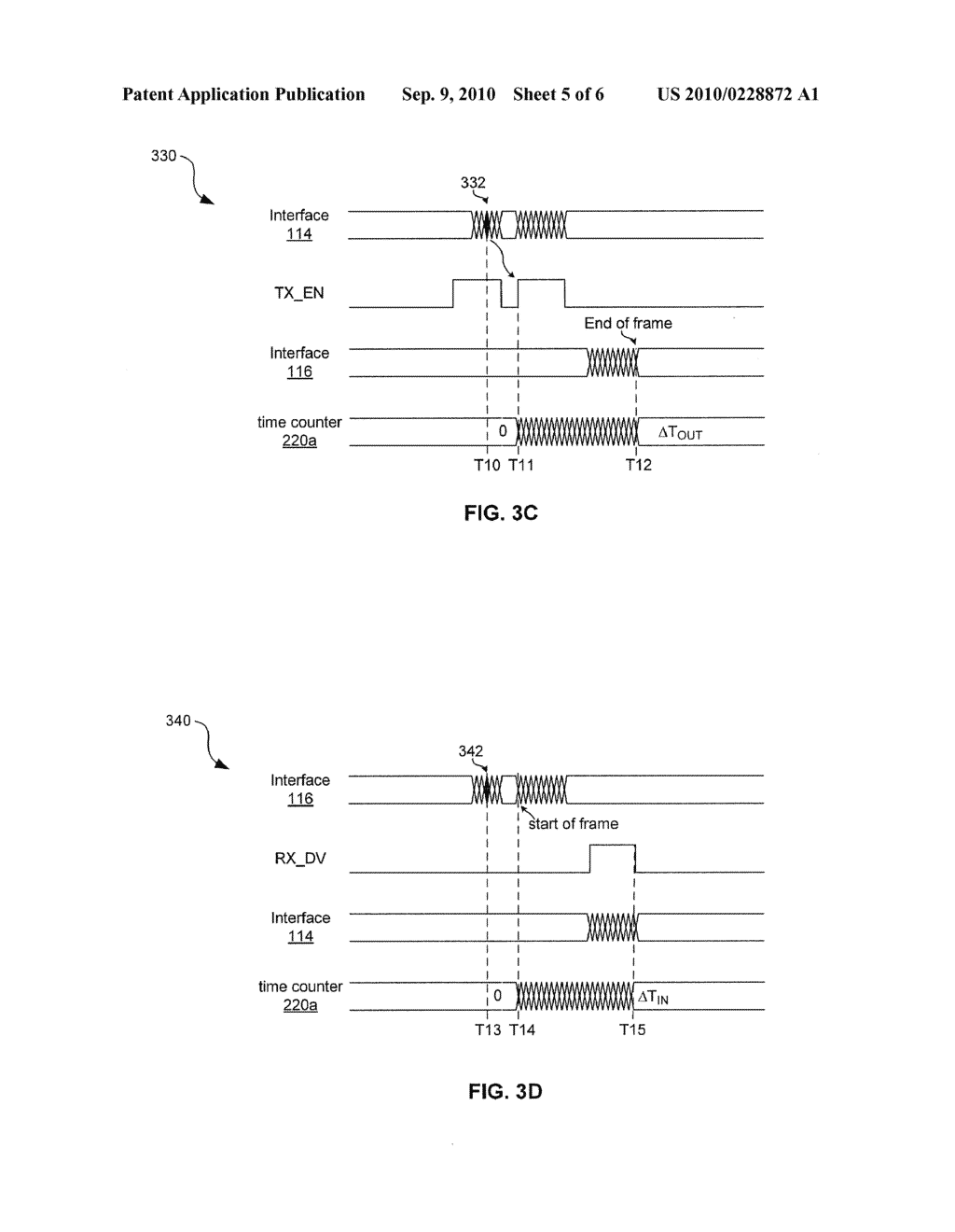 METHOD AND SYSTEM FOR DETERMINING PHYSICAL LAYER TRAVERSAL TIME - diagram, schematic, and image 06