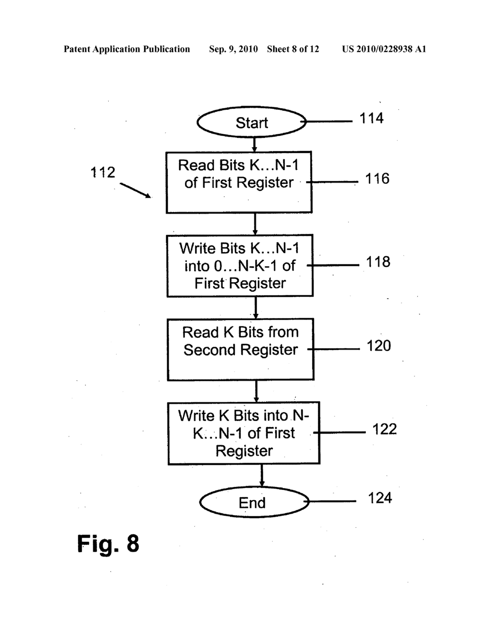 METHOD AND INSTRUCTION SET INCLUDING REGISTER SHIFTS AND ROTATES FOR DATA PROCESSING - diagram, schematic, and image 09