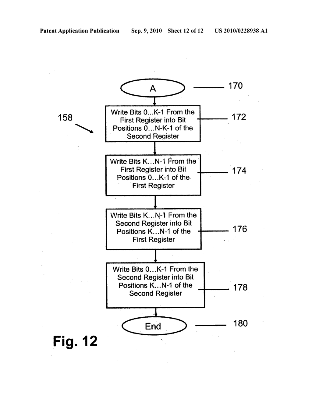 METHOD AND INSTRUCTION SET INCLUDING REGISTER SHIFTS AND ROTATES FOR DATA PROCESSING - diagram, schematic, and image 13