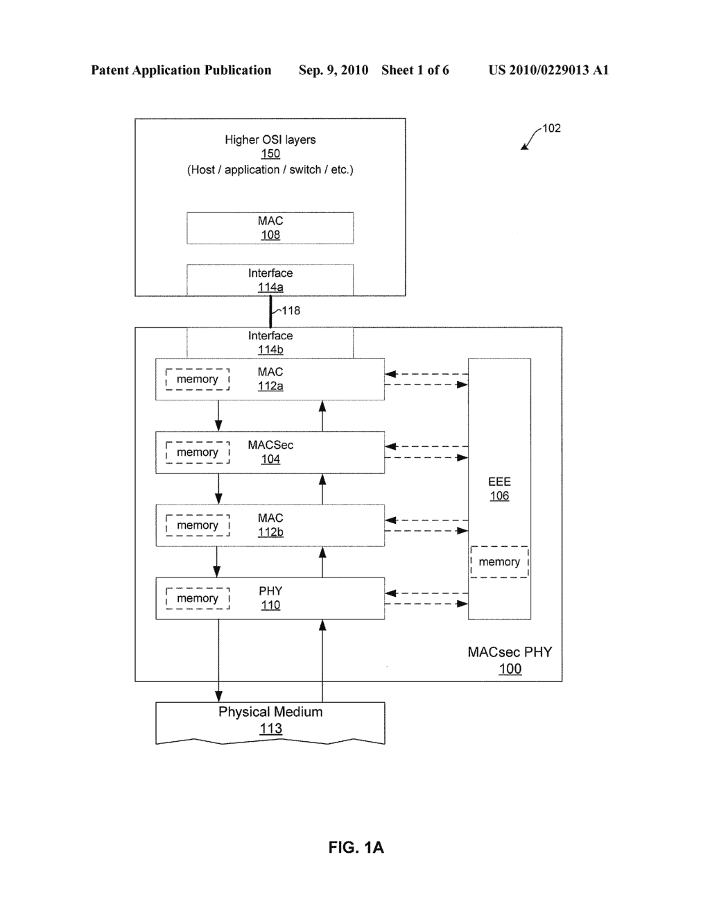 METHOD AND SYSTEM FOR IMPLEMENTING ENERGY EFFICIENT ETHERNET TECHNIQUES IN A MACSEC ENABLED PHY - diagram, schematic, and image 02